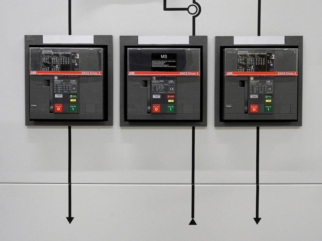 esempio di quadro elettrico moderno